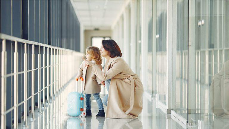 När barnet ska resa själv